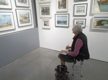 Visit from Putney art group