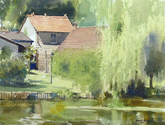 Geoff Hunt The house in the willows, Maidenhead copy